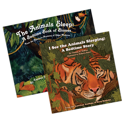 Two Book Set: I See the Animals Sleeping & The Animals Sleep